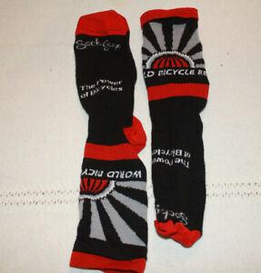bicycle socks/sock guy/World Bicycle Relief/Black