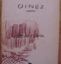Oinez/ Xabin Egaña/ Arabera/ Primera edición/ 1998/ En vasco y en español