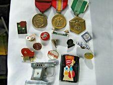 New listing Junk Drawer Zippo lighter Occupied Japan lighter Lapel & Military Pins Badges