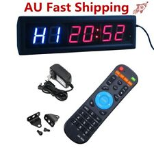 AU Multifunctional CrossFit Programmable LED Interval Timer For EMOM Tabata