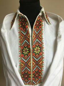 SALE!! Ukrainian vintage embroidery clothes , blouse, handmade, Ukraine