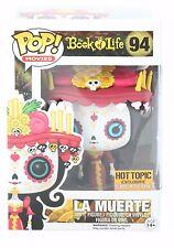 Funko Pop! Book of Life La Muerte Glow In The Dark Hot Topic Exclusive-RETIRED