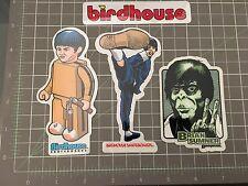 4 Vintage Birdhouse Skateboard Stickers Brian Sumner Toy Logo Bruce Lee Ape