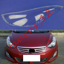 Replace Left Side Clear headlight cover PC+Glue Fit For Hyundai Elantra 2011-16