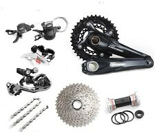 Brand New SHIMANO Deore M610 2x10 Speed MTB Double Groupset 7 pcs 38-24T