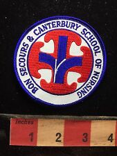 New Jersey Patch Bon Secours & Canterbury School Of Nursing ~ Nurse Medical 74K7