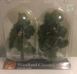 "Woodland Scenics TR3516 6"" - 7"" Sun Kissed Deciduous Trees (Pack of 2)"