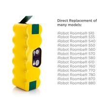 morpilot 3800mAh iRobot Roomba Batería de Ni-MH + 1 PCS cepillo lateral