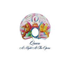 QUEEN - A NIGHT AT THE OPERA (LIMITED BLACK VINYL)  VINYL LP NEW!
