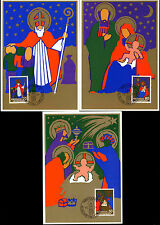 Liechtenstein 1981 Christmas Maximum Card Set #C38906