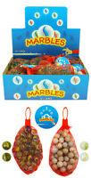 NET OF 50 Glass Marbles Random Pack (T19 102)