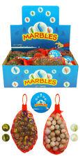 Net Of 50 Glass Marbles Random Pack