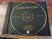 Lacuna Coil CD Lacuna Coil OZZFEST PROMO Swamped Heaven's A Lie Senzafine 2004
