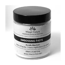 Embossing Paste for Embossing projects, textured ground, Painting, Collage erc.