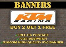 KTM Racing Motorcycle Banner for Garage / Shop / Promotional Duke Freeride