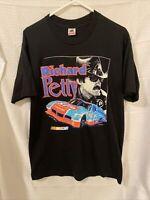 Vintage Nascar T Shirt Mens Richard Petty Champions 90s Large single stitch