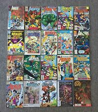 lot of 20 AVENGERS~Annuals,West Coast,Solo,What If,Dark,Arena, more