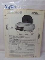 SAMS PHOTOFACT FOLDER MANUAL & SCHEMATIC RADIO CAR OLDSMOBILE 982990 FOR 1953