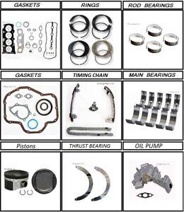 Toyota Scion Camry Rav 4 Vibe Others Engine rebuild kit 2.4 2AZFE 2007 - 2013