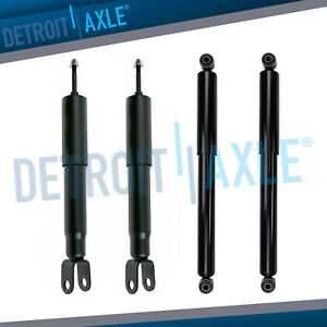 Silverado Sierra 1500 Tahoe Yukon Shock Absorbers for All 4 Front & Rear 4WD