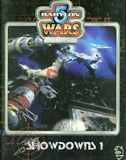 Babylon 5 Wars 2nd Ed Showdowns 1  RPG MBX108