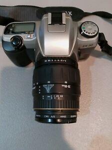 Pentax ZX-30 SLR 35mm Film Camera w/AF Zoom 28-80mm 1:3.5-5.6 Lens+ Case