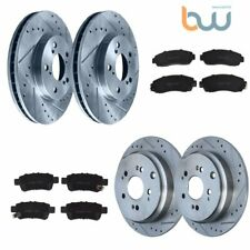 Front G-Coated Rotor /& Ceramic Brake Pads for 2005-2010 Honda Odyssey