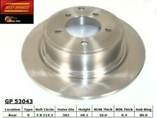 Federated SB780541 Professional Grade Plus Rear Brake Rotor