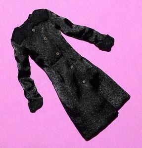 IT 12 in Poppy Parker Friday Night Frug Black Satin Coat PP 1.5