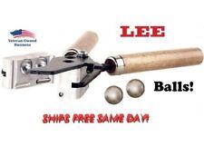 Lee Precision * 2 Cavity Bullet Mold (600 Diameter) Round Ball # 90975 * New!