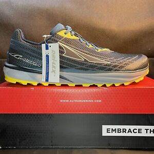 Altra Timp 2 Hiking Shoes Moroccan Blue / Yellow AL0A4PE9417 Men's Size 12