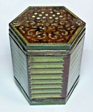 More details for splendid rare antique jacobs figural biscuits tin 1930