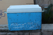 1 x blue   Malleys Metal Esky Old Retro Collectable