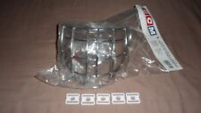 NEW Certified CCM Hockey Goalie Mask Helmet Chrome Cage Senior Adult and 5 Clips