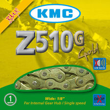 KMC Z510 Gold Chain For BMX and Single Speed Bikes