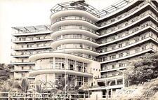 RPPC HOTEL CLUB DE PESCA ACAPULCO MEXICO REAL PHOTO POSTCARD (c. 1940s)