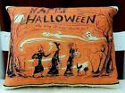 PRIMITIVE  FOLK ART  Halloween Pillow