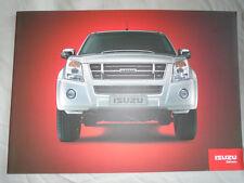 Isuzu Double & Single Cab range brochure 2008 South African market