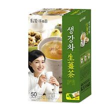 Ginger Tea Plus (50 x 15g) Korean Tea Healthy Herbal Instant Tea