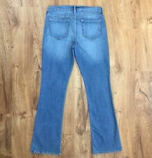 Old Navy Semi Evase Stretch Boot Cut Jeans Mid Rise Great Look Womens 6 Regular