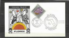 US Event Cover 1974 Florex Station 25 Years of Progress Clearwater Florida