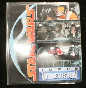 Star wars New Hope Empire Return of Jedi Topps Wide Vision Set MH144