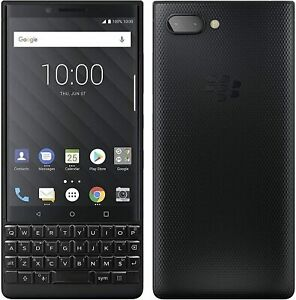 BlackBerry Key2 64GB 6GB RAM 12MP - Black (Unlocked)