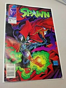 Spawn #1 Newsstand Edition 1st Appearance Spawn Image Comic Todd Mcfarlane 1992