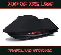 BLACK KAWASAKI JET SKI ULTRA 150 1999 2000 2001-02 03 04 05 Jet Ski Cover 2 seat