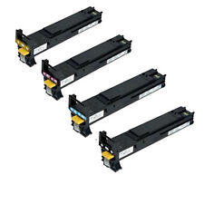 Set of 4 Toner Cartridge For Konica Minolta Magicolor 4650 4650DN 4650EN