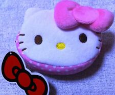 Rare Sanrio Japan Limited Hello Kitty Cute Cosmetic Pouch Case Purse Bag  Ribbon