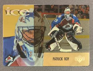 1998-99 McDonalds Upper Deck Ice - #15 Patrick Roy - Colorado Avalanche