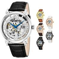Stuhrling Men's 165B2 Winchester 44 Automatic Skeleton Self Wind Dress Watch