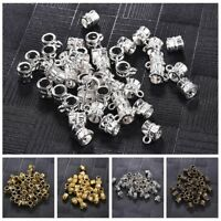 50pcs/Pack Clip Bail Beads Findings DIY Supplies Jewelry Findings Pendant
